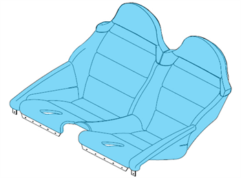 Picture of Seat Upholstery Assy
