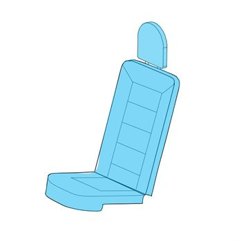 Picture of MD 900 Pax Seat Cover