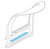Picture of PA-38 Door Armrests