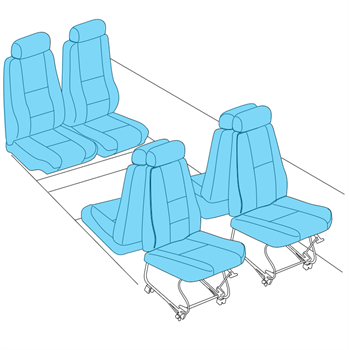 Picture of PA-34 Seat Upholstery
