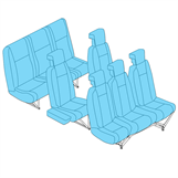 Picture of Pax Seat Covers