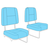 Picture of 2nd Row Single Seats -Auxiliary