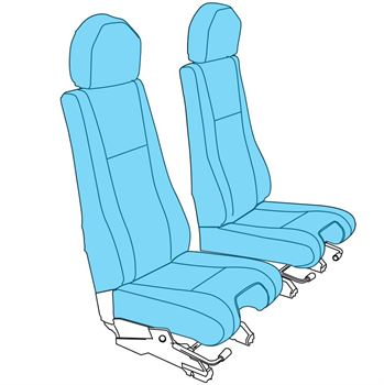 Picture of BK 117 Crew Seat Assy