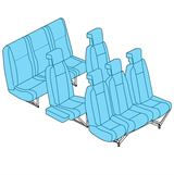 Picture of BK 117 Pax Seat Assy, Full Set