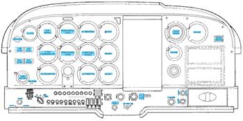 Picture of C177 Mandatory Interior Placard Set