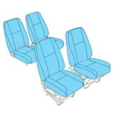 Picture of PA-28 Seat Upholstery (4 x bucket)