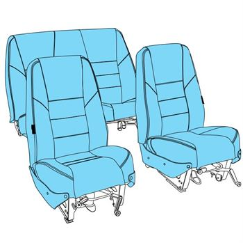 Picture of C177 Seat Upholstery (1968-78)
