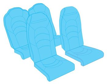 Picture of SR22 Seat Upholstery