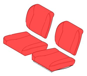 Picture of Sheepskin Overcovers - Front Seats