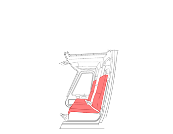 Picture of Bell 206Seat over covers, Crew Only