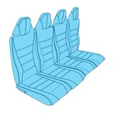 Picture of H125 Rear Pax Seat Assy